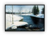 Canadian Landscapes 050G: 36x48inches