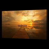 Sun Setting on Pier