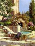 Garden Oil Painting 042