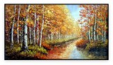 Canadian Landscapes 024G: 30x60inches,