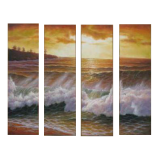Buytopia-Reduced Multipanel Oil Painting 175