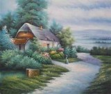 Garden Oil Painting 004