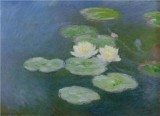 Water Lilies, Evening Effect