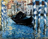 The Grand Canal, Venice (Blue Venice)