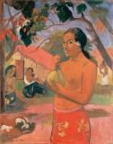 Eu haere ia oe (Woman Holding a Fruit)