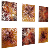 Designer  Multipanel Oil Painting 109
