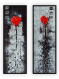 Abstract Collection Vol.3 - 69 - Set of 2: 20x60, 30x40