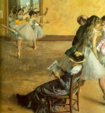 Ballet Class (The Dance Lesson)