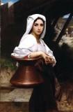 Italian Girl Drawing Water (Jeune Italienne puisant de l'eau)