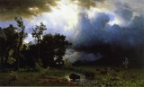 The Impending Storm (The Last of the Buffalo)