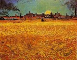 View from the Wheatfield, Arles