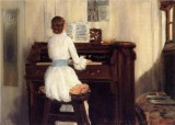 Mrs. Meigs at the Piano