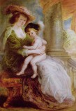 Helena Fourment with her Eldest Son, Frans