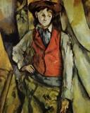 Boy in Red Vest