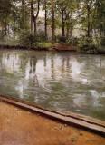 The Yerres, Rain (Riverbank in the Rain)