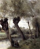 Willows on the Banks of the Scarpe