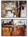 Abstract Collection Vol.3 - 87 - Set of two