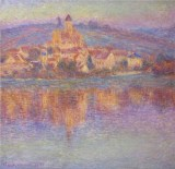 Vetheuil, at Sunset